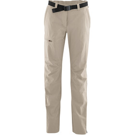 Maier Sports Inara Slim Spodnie Kobiety, feather gray